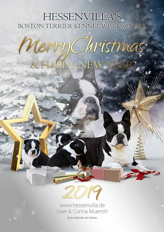 Christmas In Boston 2019.Merry Christmas Happy New Year 2019 Hessenvilla